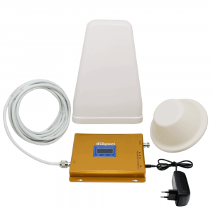Усилитель сигнала Wingstel 900/1800/2100 mHz (для 2G/3G/4G) 65 dBi, кабель 15 м., комплект